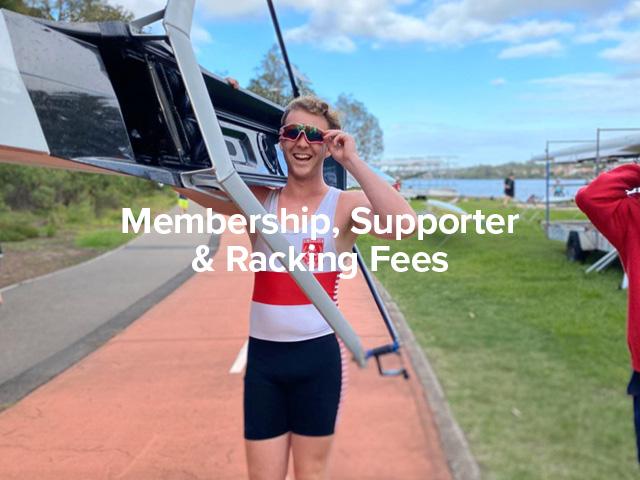Rowing Membership, Supporter & Racking Fees