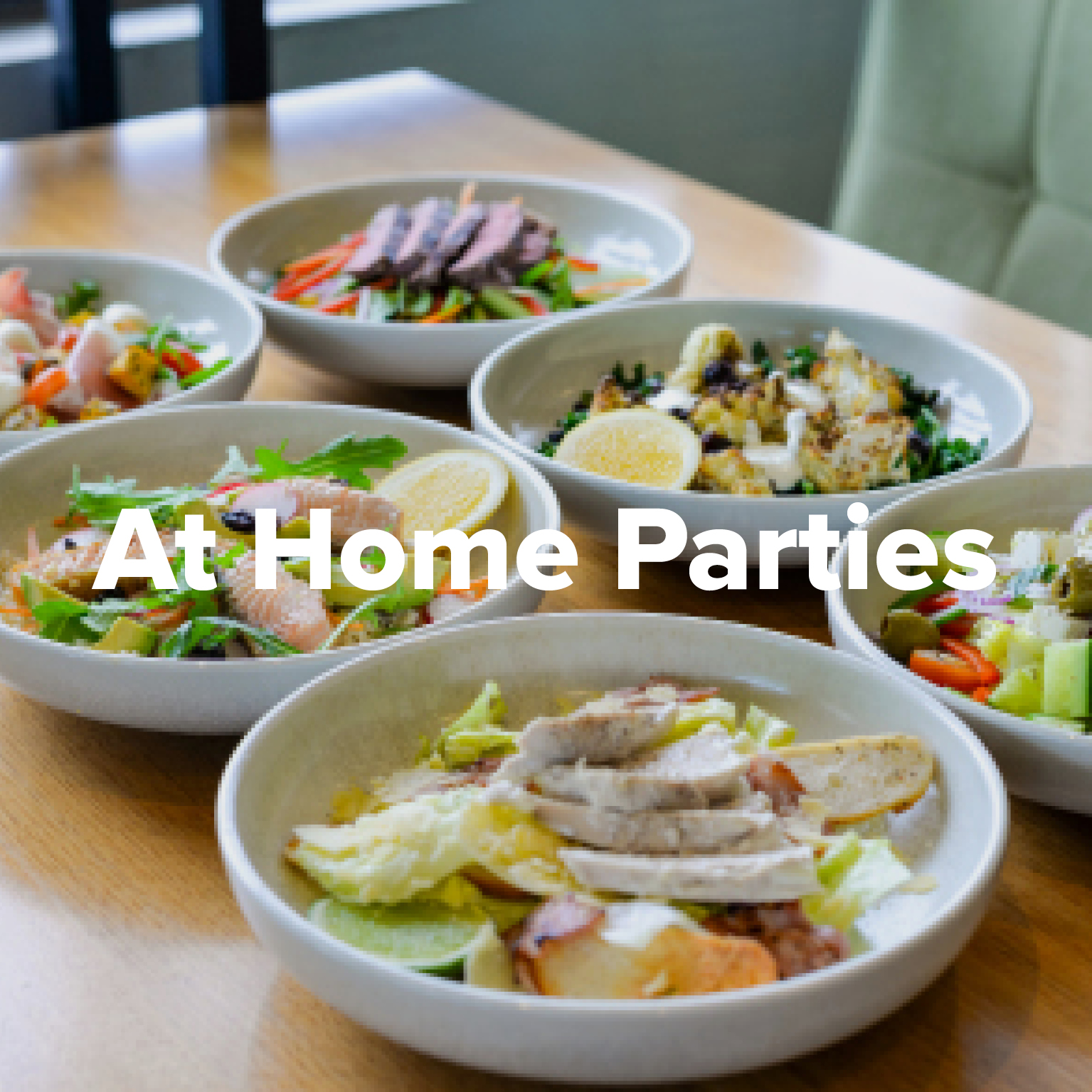 At Home Parties at Rowers on Cooks River
