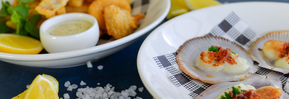 Seafood at Rowers on Cooks River