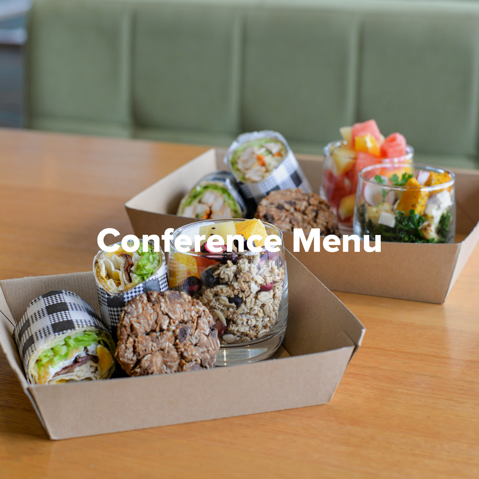 Conference Menu at Rowers on Cooks River