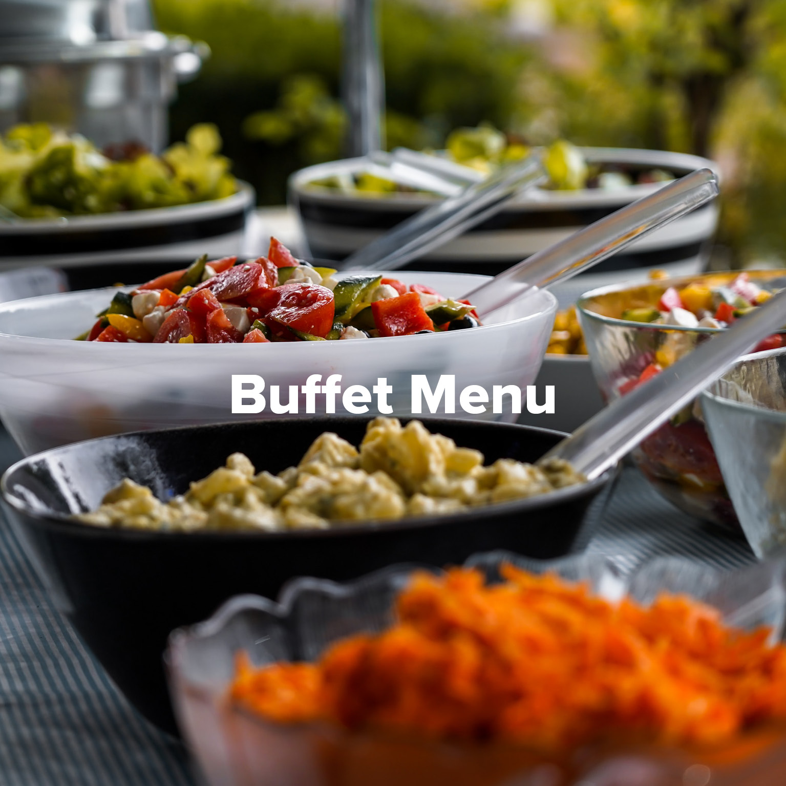 Buffet Menu at Rowers on Cooks River